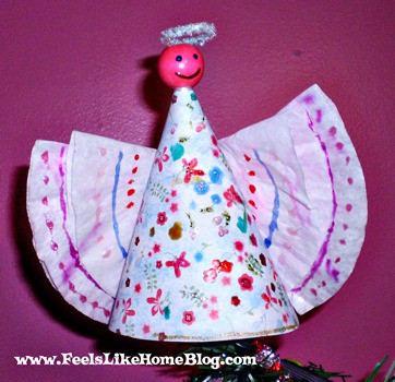 angel tree topper craft