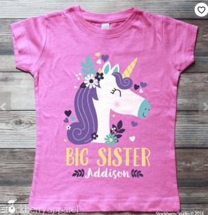 A Big sister tshirt