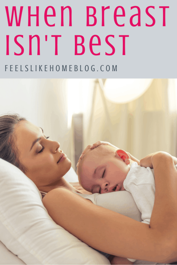 Breastfeeding doesn't work for everyone, and moms who want to but can't are heartbroken! Regardless of the reasons you're unable to breastfeed, you must deal with the guilt and understand that it's okay, and you aren't a failure.