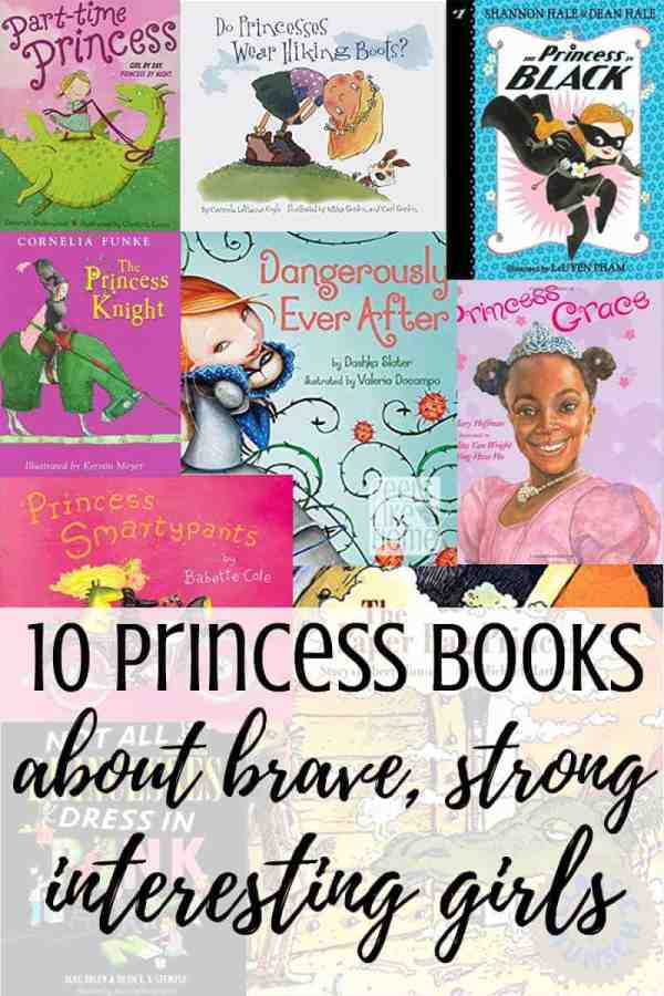 A collage of princess book covers