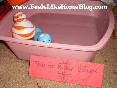 Bobbing for Rubber Duckies
