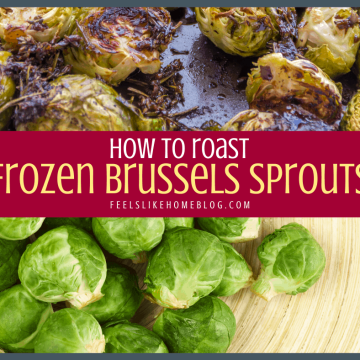 raw and roasted brussels sprouts