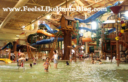 Great Wolf Lodge indoor waterpark