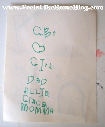 homeschool preschool writing