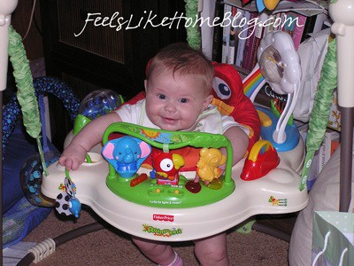 Rain forest Jumperoo - must have baby products
