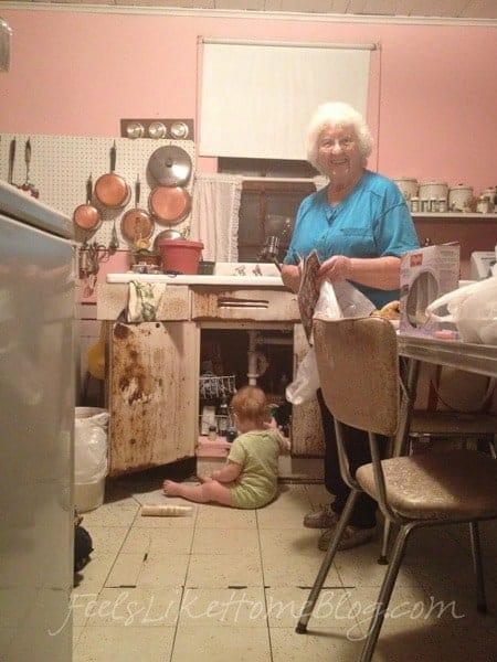 Old Grandma and Allie