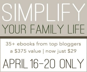 simplify family life