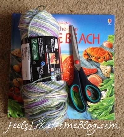 Yarn doll materials