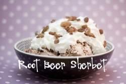 root beer sherbet