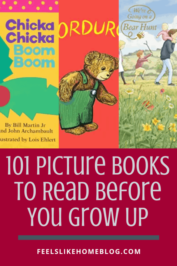 101 Picture Books To Read Before You Grow Up