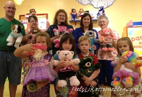 Grace S Build A Bear Workshop Birthday Party