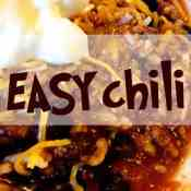 Easy Black Bean Chili (featuring a giveaway)