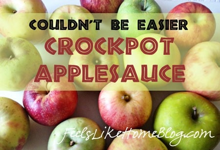 how to make applesauce