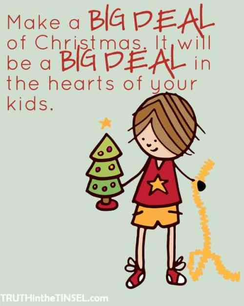 A drawing of a kid with a Christmas tree
