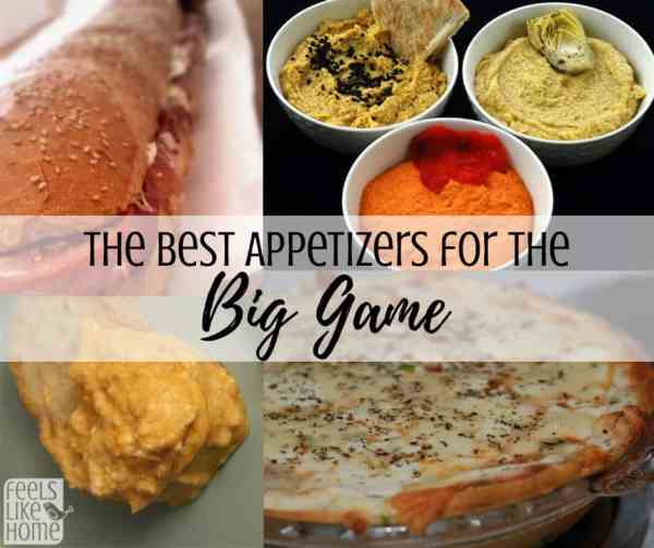 The Best Super Bowl Appetizers Feels Like Home