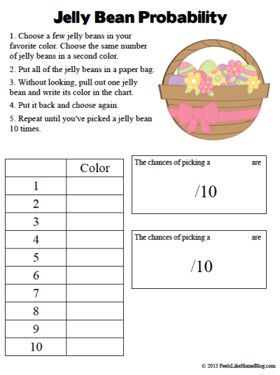 Jelly Bean Math Amp Other Activities Feels Like Home