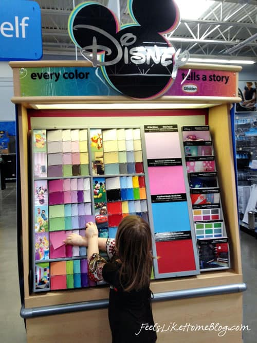Glidden Disney Paint Display