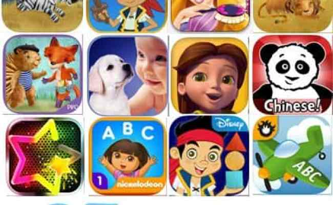 27 Iphone And Ipad Apps For Smart 3 Year Olds
