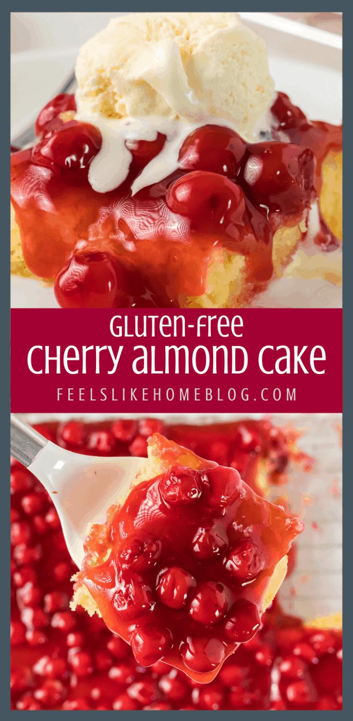 The Best Cherry Almond Cake Recipe & It\'s Gluten-Free