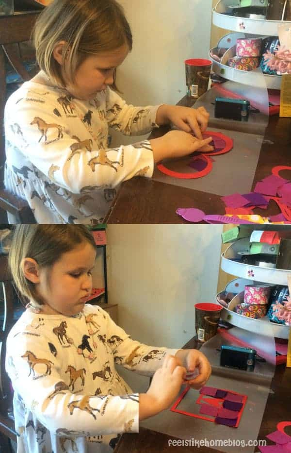 Easy Valentine Suncatcher Crafts for Kids