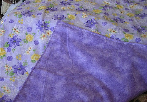 how to make flannel baby blankets material