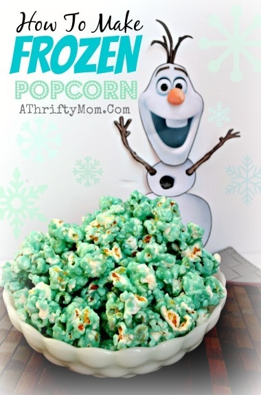 Frozen popcorn