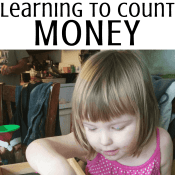 Learning to Count Money – Preschool Sorting Activity