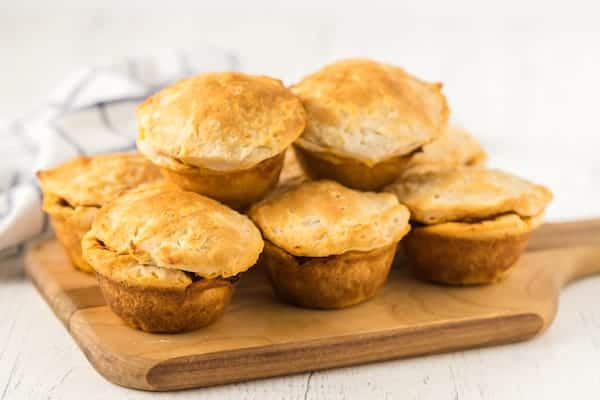 cooked beef bbq biscuit cups