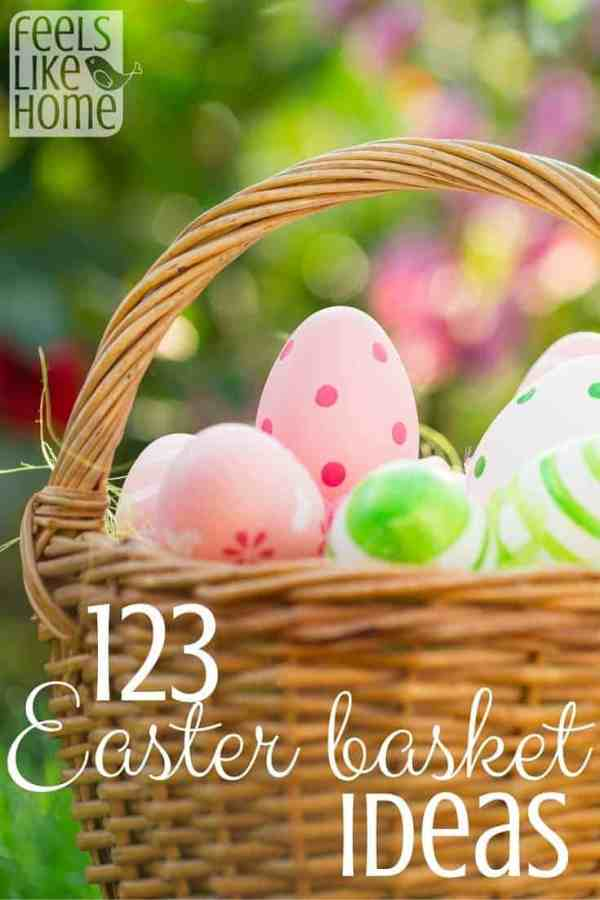 123 Easter Basket Ideas Feels Like Home