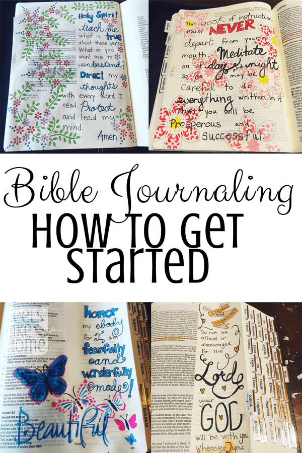 How To Get Started Bible Journaling The Basics Feels