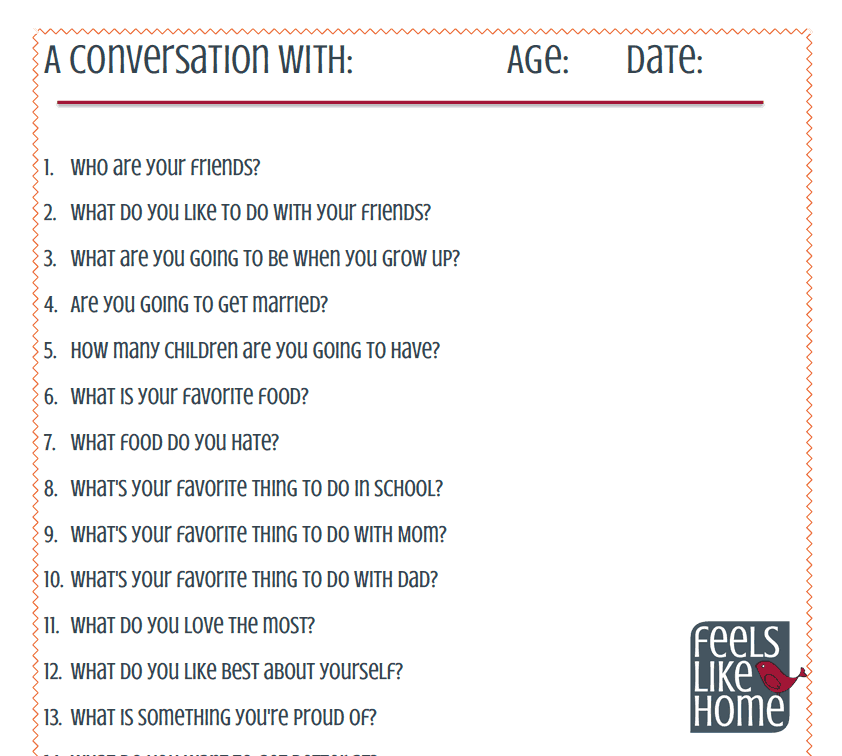20 questions to ask a best friend