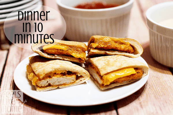 These sandwiches help you get dinner on the table in 10 minutes or less! Perfect healthy quick and easy dinner for the whole family with no oven needed!
