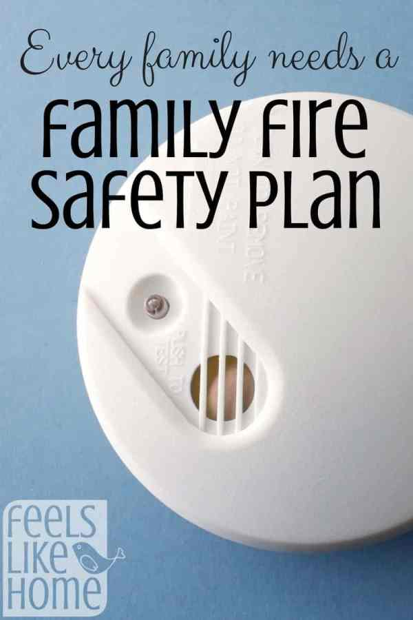 All families need a fire safety plan, but especially those with kids. Teach your kids about fire safety, make a plan, and practice it together! Emergency preparedness for home and children.