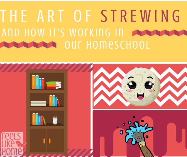 The art of strewing - This popular unschooling technique can benefit any homeschool by encouraging children to take an interest and ownership of their learning. Lots of ideas for learning activities!