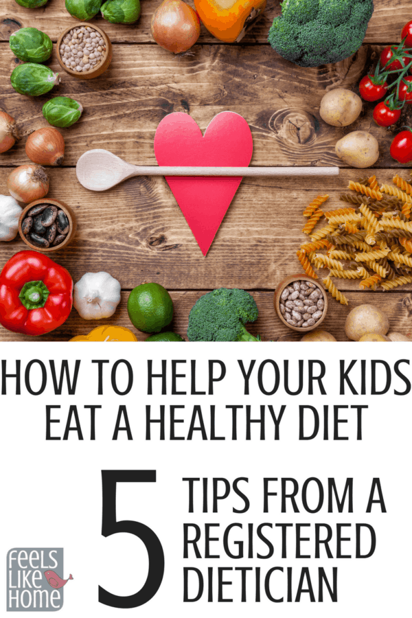 Guide To Help Your Kids Eat Healthy At Home.