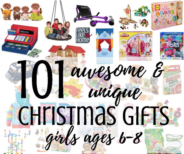 101 awesome & unique Christmas gift ideas for girls who are 6, 7, and - 101 Best Unique Christmas Gift Ideas For Girls Ages 6-8 - Feels Like