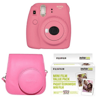 fujifilm instax camera with extra film grace has wanted one of these the last few years but something else has always usurped it on her list