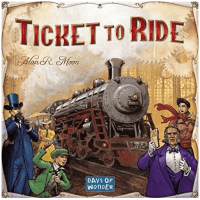 Ticket to Ride – I haven't actually played this game, but it has been on my  wishlist for quite a while. The premise is that you have to ride a train  all ...