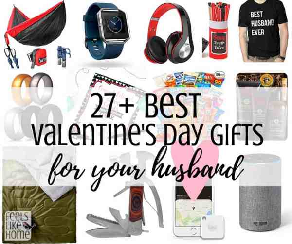 A collage of men\'s Valentine\'s day gifts