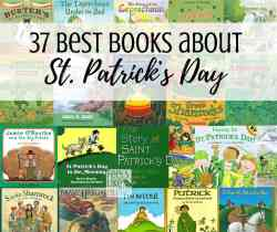 Best books about St. Patrick's Day to read to your kids - Books for toddlers, preschoolers, kindergarten, first grade, second grade, and third grade. St. Patty's Day is fun and exciting when you learn about leprechauns and their pots of gold, green clovers and shamrocks, rainbows, and Ireland. Lots of fun books for children!