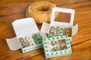 A box of leprechaun donuts
