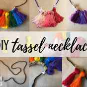 DIY Tassel Necklaces for Stylish Ladies