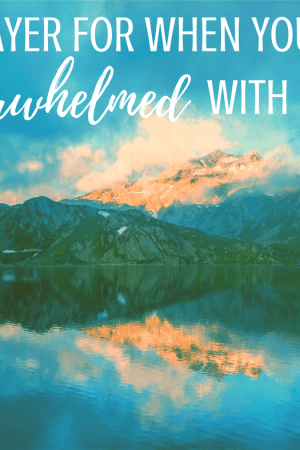 A prayer for when you're overwhelmed with life and anxious. Jesus The Rock can help restore faith and peace in your life even when things seem hopeless. These scriptures and truths from God will bring peace and strength to your heart. Quotes from The Lord.