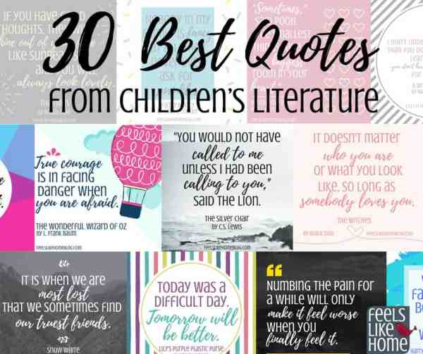 30 Best Quotes From Our Favorite Children S Books Feels Like Home