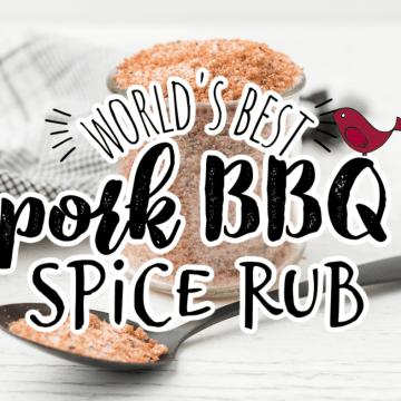 The best pork BBQ spice rub in a jar