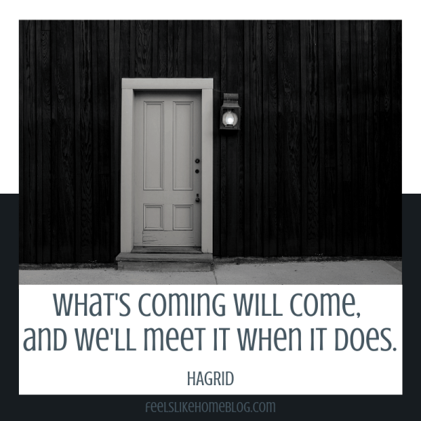 What's coming will come, and we'll meet it when it does. Awesome Harry Potter quotes from Dumbledore, Snape, Harry, Hermione, Sirius, and more. I love all these quotes to live by. The best printable quotes for a tattoo. Meaningful truths.