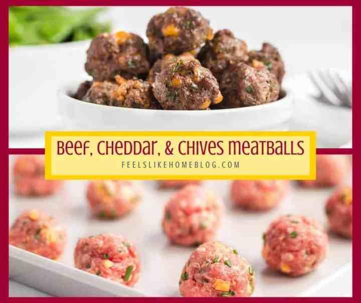 A bunch of Beef Meatballs