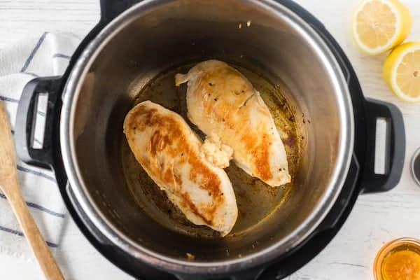 Lemon chicken in the Instapot