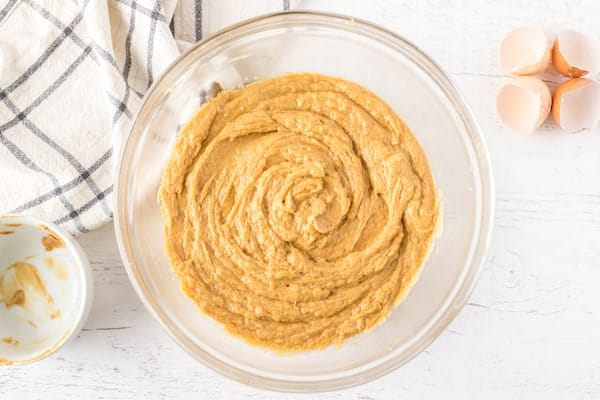 peanut butter cheesecake batter