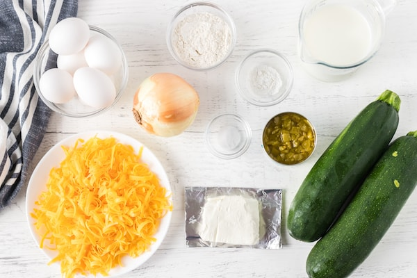 zucchini quiche ingredients